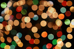 Colorful Light Bokeh Stock Images
