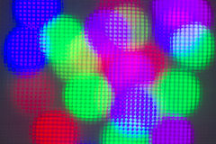 Colorful light bokeh Royalty Free Stock Photos