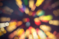 Colorful light bokeh Royalty Free Stock Photography