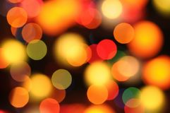 Bokeh backgrounds for design.Color and Blur effects. Colorful light bokeh effect for design Stock Photo