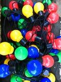 Colorful light bulbs Royalty Free Stock Photo