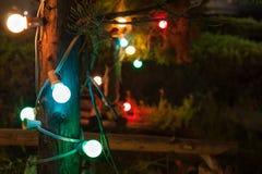 Colorful light bulbs Royalty Free Stock Photos