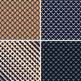 Colorful light and shadow geometric texture Stock Image