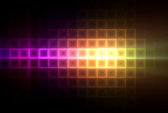 Colorful light squares background Stock Photos