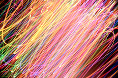Colorful Light Streaks Royalty Free Stock Photography
