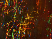 Colorful Light Streaks Royalty Free Stock Images