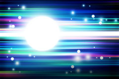 Colorful light and stripes moving fast background Royalty Free Stock Photo