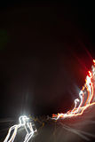 Colorful Light Trails Abstract Royalty Free Stock Image