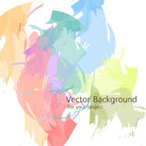 Colorful light vector abstract background. For a design project vector illustration