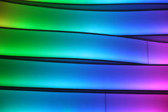 Colorful Lighted Wall Stock Photos