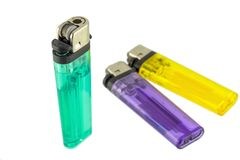 Colorful lighter Royalty Free Stock Photo