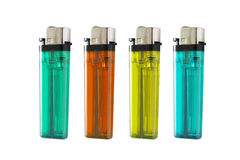 Colorful lighters Royalty Free Stock Photos