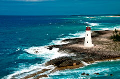Colorful Lighthouse stock photography