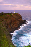 Colorful Lighthouse Landscape Stock Images
