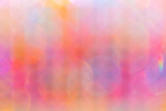 Colorful lighting blurred. Beautiful of colorful lighting with blurred by manual focus royalty free stock photos