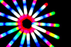 Colorful lighting circle Stock Photo