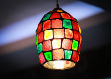Colorful Lighting decor Stock Image