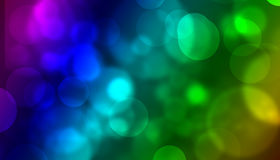 Colorful lights. Abstract photo of colorful lights and globes Royalty Free Stock Image