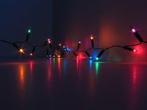 colorful lights Στοκ Φωτογραφία