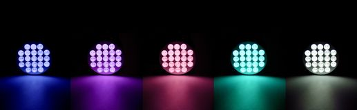 Colorful lights Stock Images