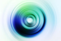 Colorful lights background. With radial blur effect stock photo