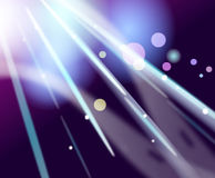 Colorful Lights background. Bright sun Lights on dark background Stock Photography