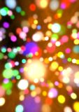 Colorful lights background Royalty Free Stock Photography