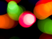Colorful Lights Background Royalty Free Stock Photos