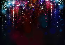 Colorful lights background. Royalty Free Stock Photography