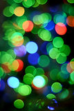 Colorful lights background. Stock Photography