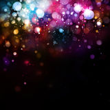 Colorful lights background. Royalty Free Stock Photos