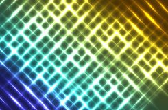 Colorful lights. Blur colorful abstract light background is beautiful Stock Photos