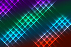 Colorful lights. Blur colorful abstract light background is beautiful Royalty Free Stock Photography