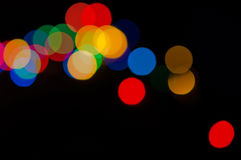Colorful lights Stock Image