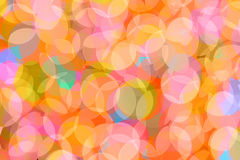 Colorful lights christmas background Stock Images