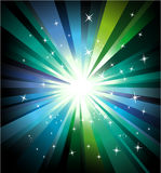 Colorful Lights Explosion vector illustration