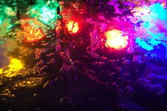 Free Colorful Lights In The Water Stock Images - 45095674