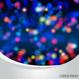 Colorful lights party background Royalty Free Stock Image