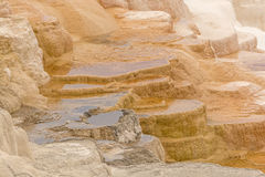 Colorful Limestone Terraces Royalty Free Stock Photography