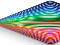 Colorful_lines Photo libre de droits
