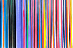 Colorful lines abstract art background Royalty Free Stock Photos