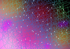 Colorful lines background Royalty Free Stock Photos