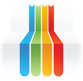 Colorful lines background Royalty Free Stock Images