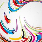 Colorful lines background Royalty Free Stock Photography
