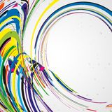 Colorful lines background. Abstract illustration Royalty Free Stock Images