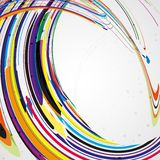 Colorful lines background. Abstract illustration Stock Image