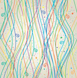 Colorful lines, vector Royalty Free Stock Photo