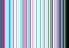 Colorful lines in silver, blue, pink hues. Colorful lines in blue, pink, green, phoshorescent hues. Abstract design and pattern in colorful lines Stock Photography