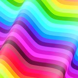 Colorful lines vector background Royalty Free Stock Photography
