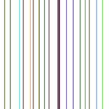 Colorful lines on white background Stock Image